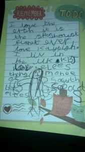 letter from Kays
