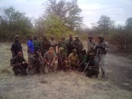 Training rangers in Malawi
